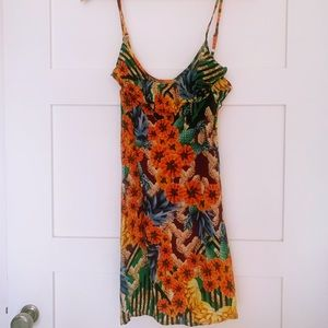 Feeling Tropical? Vintage Beach cover up